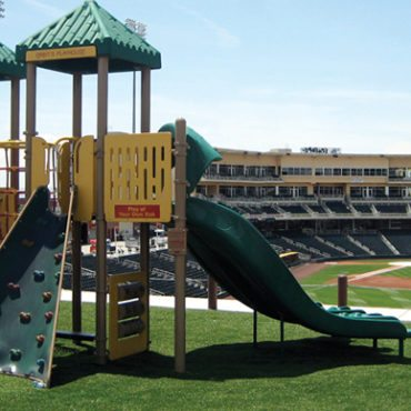 Isotopes Baseball Park Playground