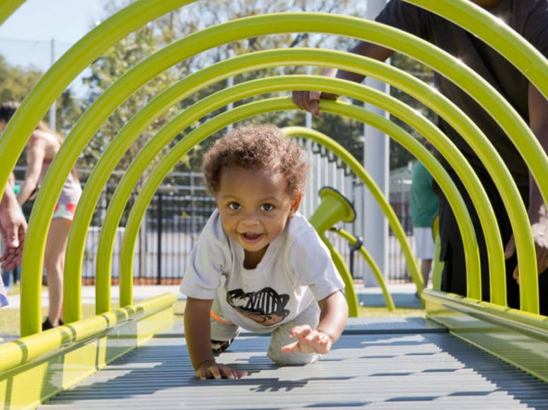 Children playing at Mary's Magical Place in Hendersonville, TN