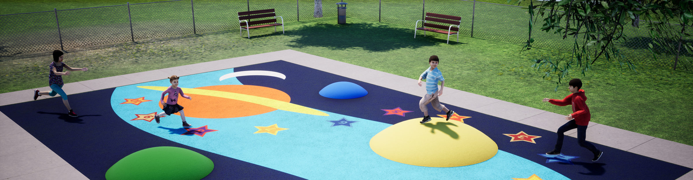 Funscapes Play Space: Galaxy