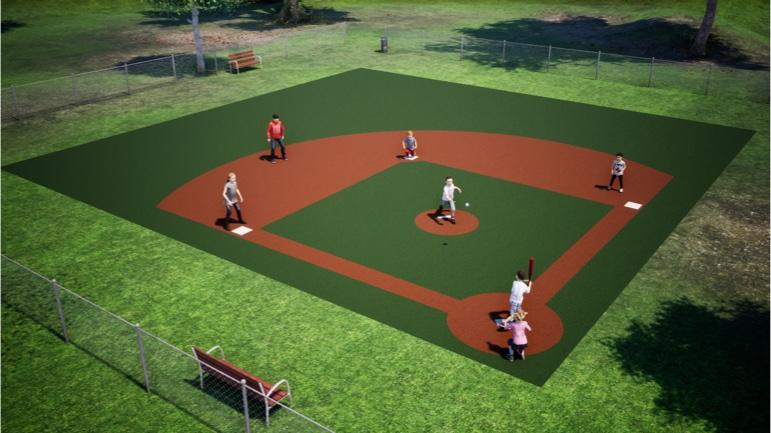 play field the diamond