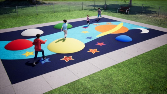play space galaxy