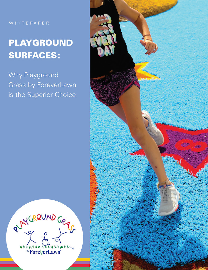 Playground Surfaces: Why Playground Grass by ForeverLawn is the Superior Choice